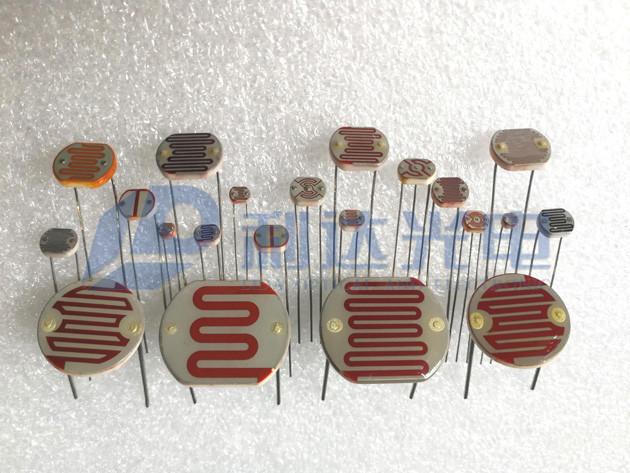 环氧树脂封装型光敏电阻系列1  Resin Package Photocells  Series1
