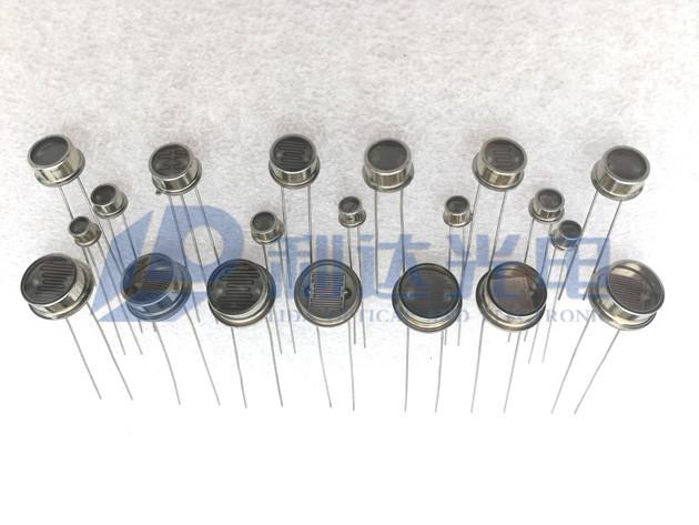 金属壳封装型光敏电阻系列  Hermetic Package Photocells Series